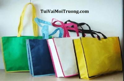 túi vải mua sắm, túi vải không dệt, túi vải môi trường, bảo vệ môi trường