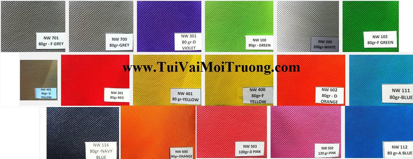 vải không dệt giá rẻ, túi vải không dệt, chất lượng vải không dệt, định lượng vải không dệt, màu vải không dệt, mua vải không dệt giá rẻ ở đâu