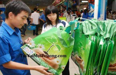 giá túi môi trường, giải pháp dùng túi vải xanh, mua túi môi trường ở đâu, túi vải không dệt, cung cấp túi môi trường,