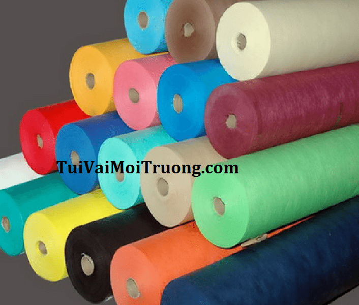 túi vải không dệt, túi vải môi trường, bảo vệ môi trường, vải không dệt
