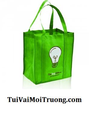 túi sinh thái tự phân hủy, túi vải không dệt, bảo vệ môi trường, vải không dệt PP
