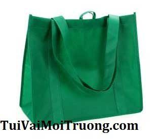 Túi xách môi trường, túi vải xanh, túi vải không dệt.