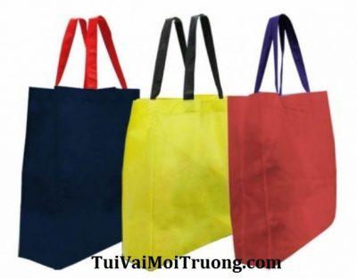 túi xách vải thân thiện môi trường, túi vải không dệt, sản xuất vải không dệt, vải không dệt, vai khong det