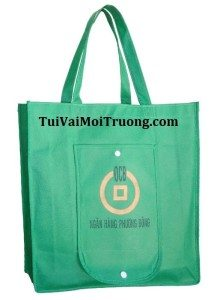 Sở Tài nguyên và Môi trường, túi xách vải không dệt, túi thân thiện với môi trường, tui vai khong det