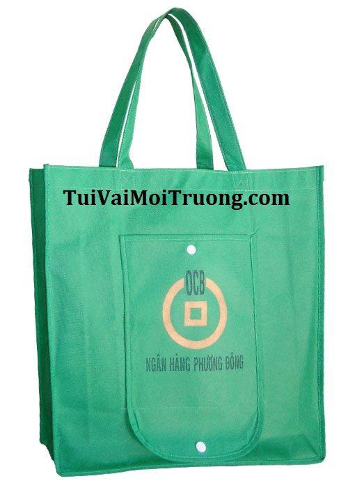 bảo vệ môi trường , túi quà tặng, bao bì vải không dệt