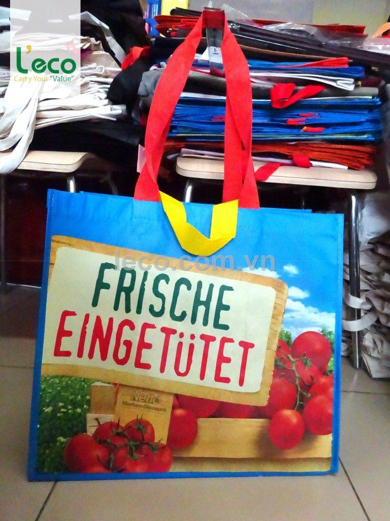 túi cán màng, tui can mang, túi siêu thị, tui sieu thi, pp lamination bag,