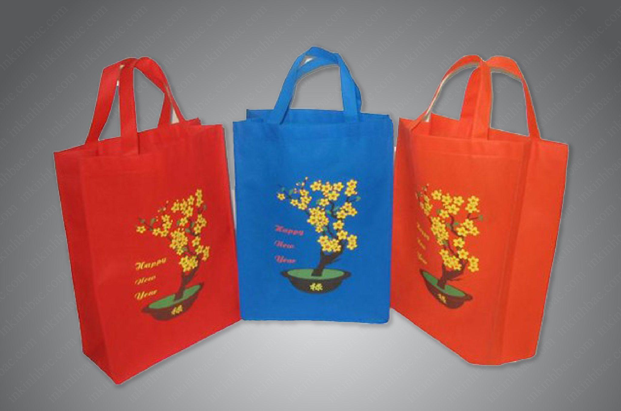 Túi vải không dệt đựng quà tết nâng tầm thương hiệu của bạn