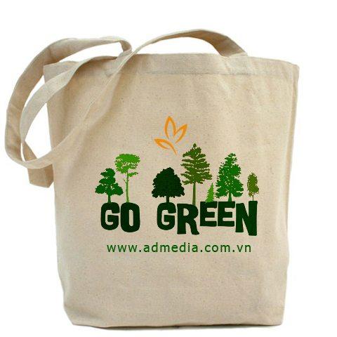 Túi vải bố sản phẩm thân thiện với môi trường