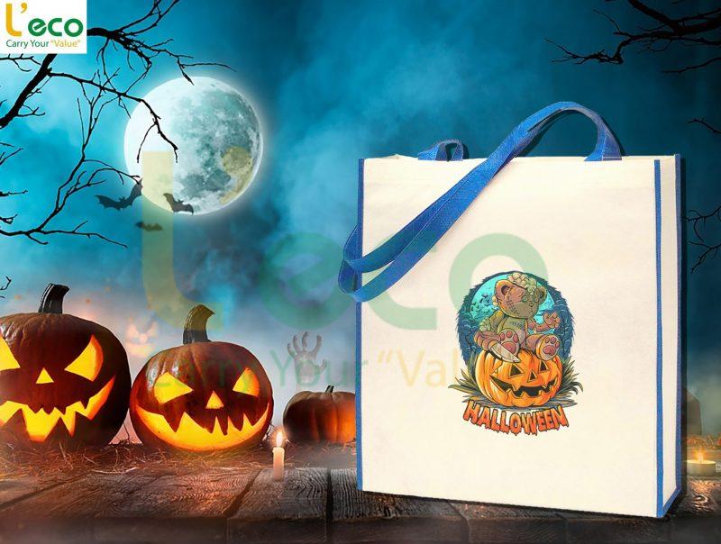 Túi vải không dệt halloween