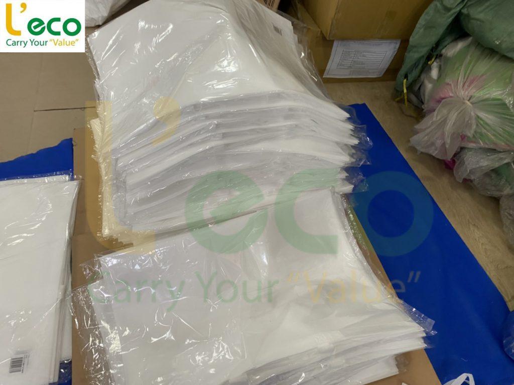 Đóng gói 20 túi trong 1 báo nilong
