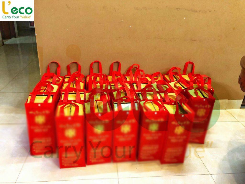 Túi đựng rượu quà tặng tết