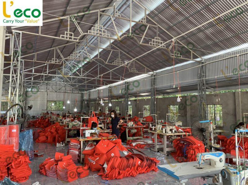 Xưởng sản xuất túi vải